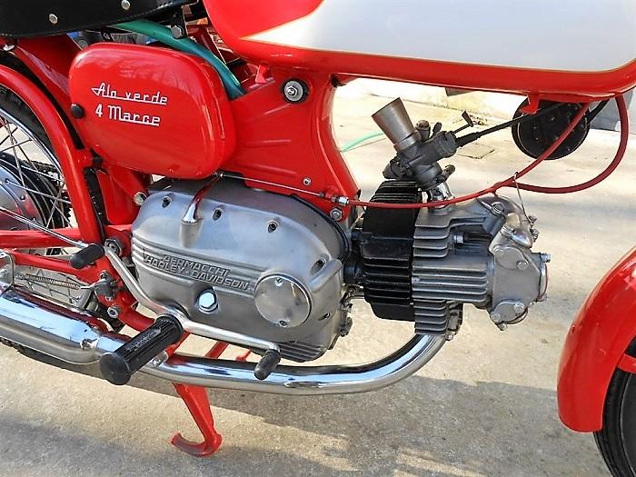 1966 Aermacchi Harley-Davidson 250 – Fully restored
