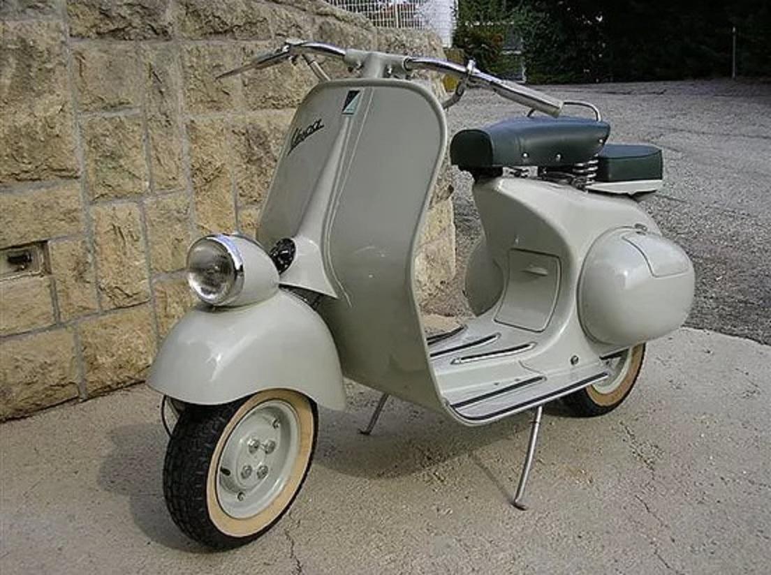 1955 vespa 125 the legendary faro basso italian for Vespa com italia