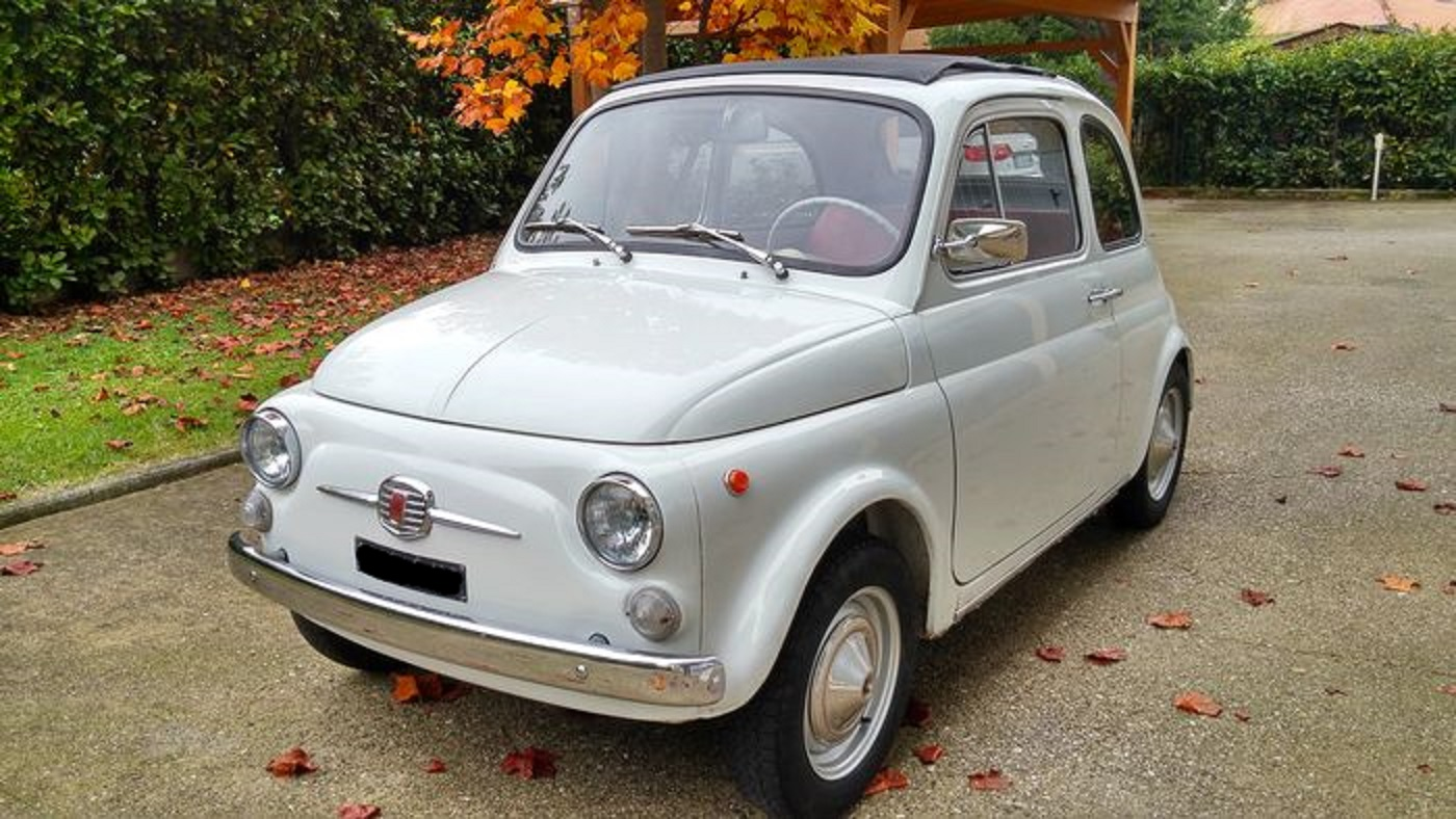1968 fiat 500 f recently restored italian vintage motors. Black Bedroom Furniture Sets. Home Design Ideas
