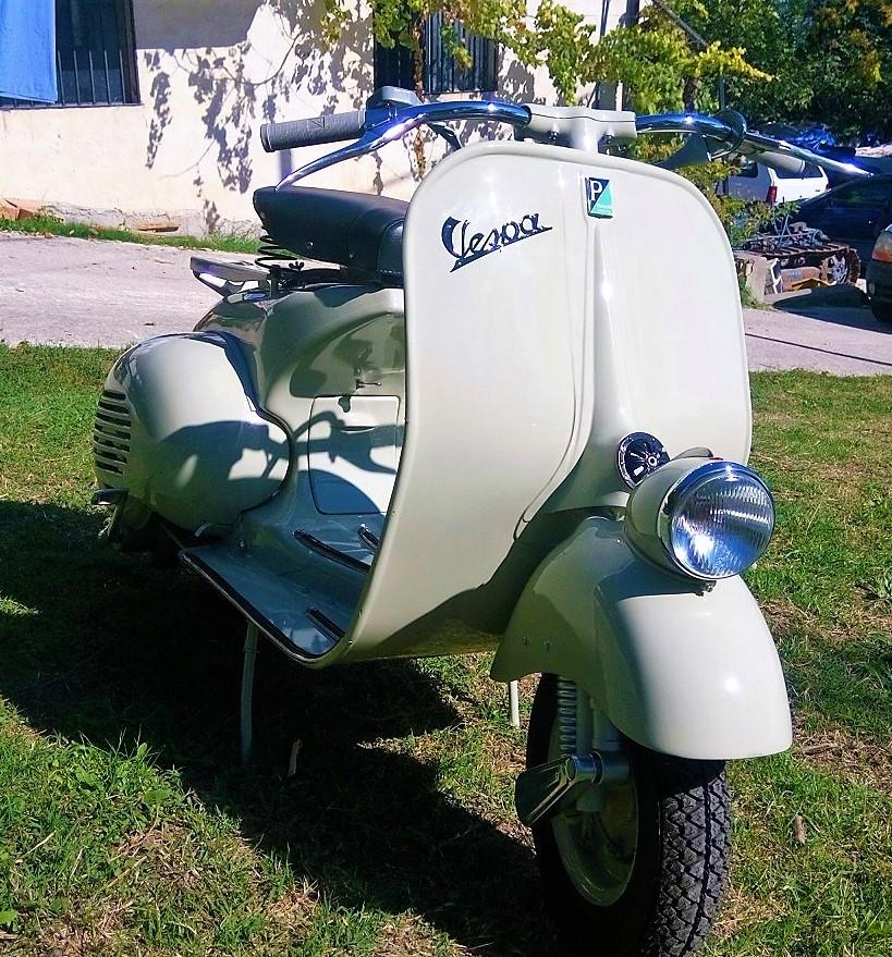 Vespa Vn1t 1955 Ivm 003 Italian Vintage Motors