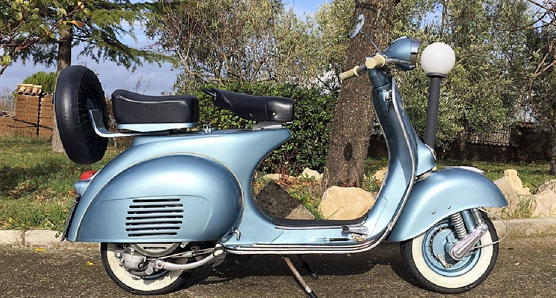 1960 Vespa 150 Vba The Perfect Vespa Italian