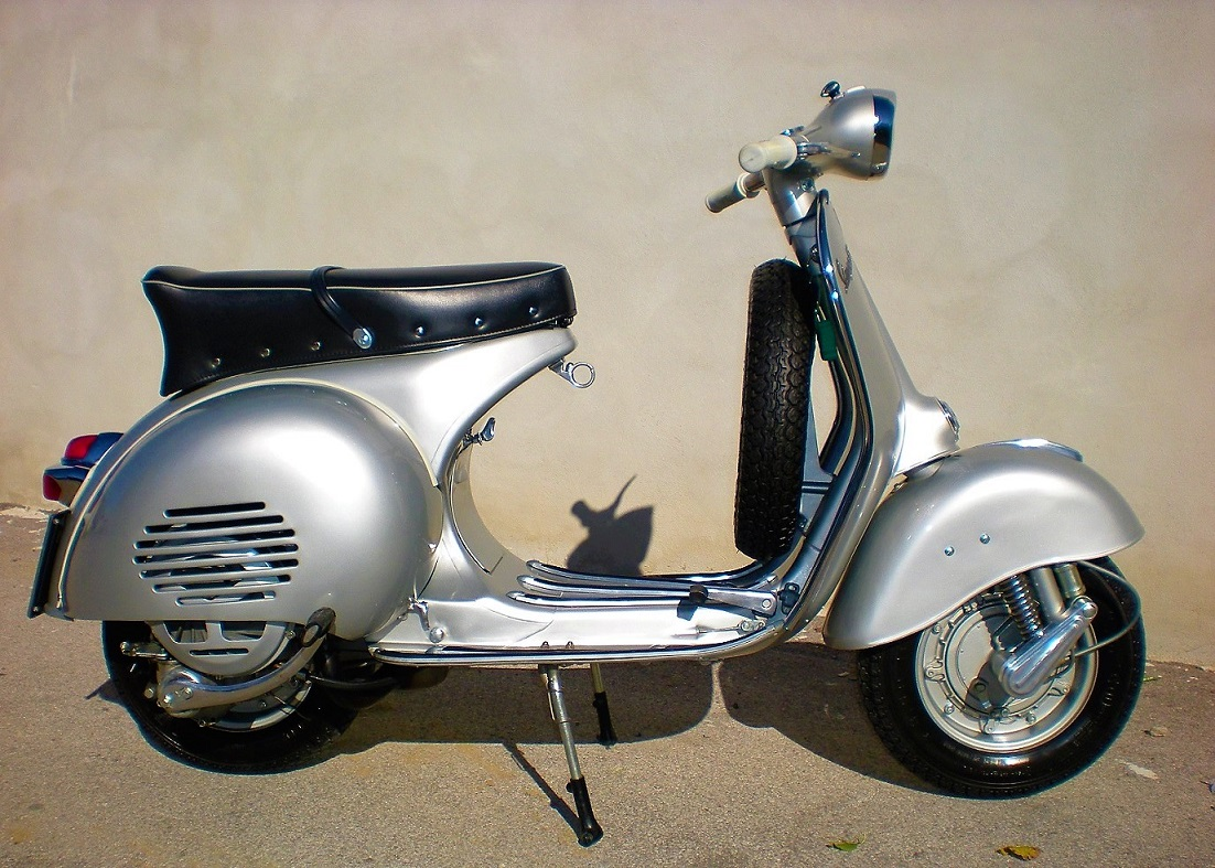 1961 vespa 150 gs beauty and rarity italian. Black Bedroom Furniture Sets. Home Design Ideas