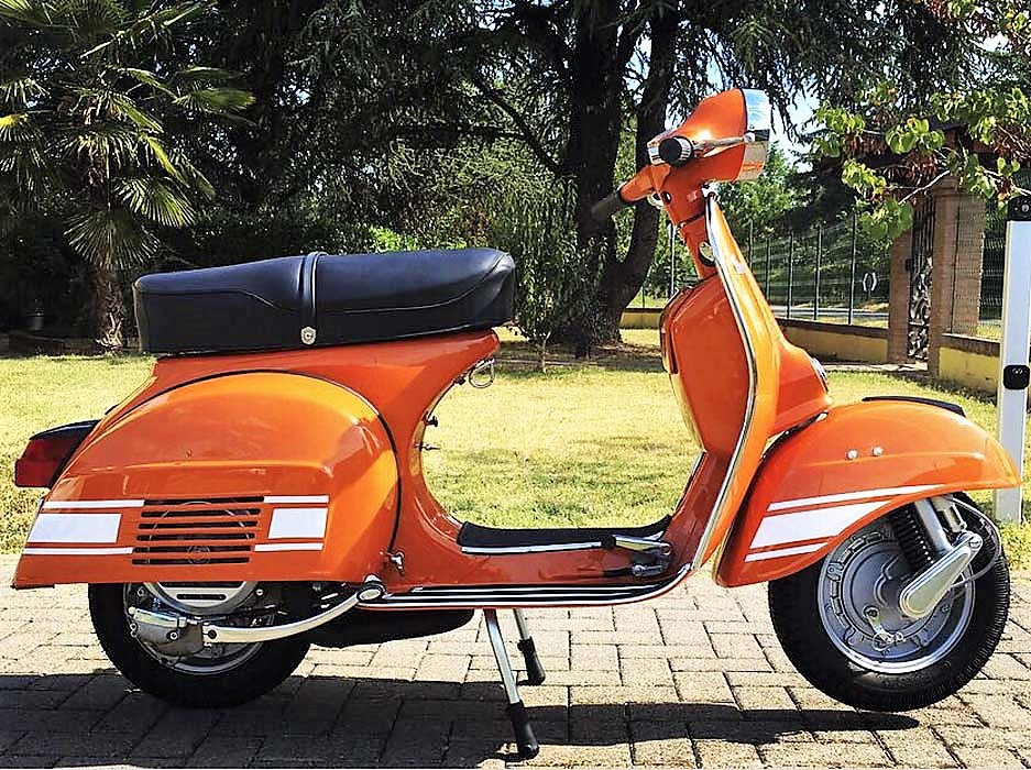 1972 vespa 200 rally highly rare first series. Black Bedroom Furniture Sets. Home Design Ideas